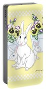 Garden Bunnies Portable Battery Charger
