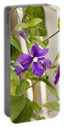 Garden Clematis Portable Battery Charger
