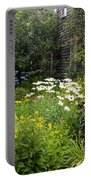 Garden Cottage Portable Battery Charger by Bill Wakeley