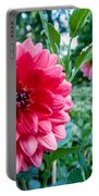 Garden Dahlia Portable Battery Charger