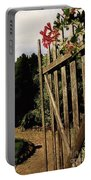 Garden Gate Welcome Portable Battery Charger