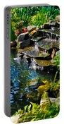 Garden Goldfish Pond Portable Battery Charger