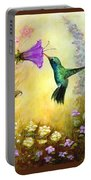 Garden Guest In Brown Portable Battery Charger