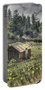 Garden Houses On Daffodil Hill  Portable Battery Charger