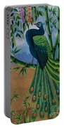 Garden Jewel 1 Hand Embroidery Portable Battery Charger