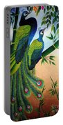 Garden Jewel II Hand Embroidery Portable Battery Charger