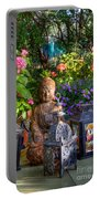 Garden Meditation Portable Battery Charger