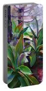 Garden Of Agave Portable Battery Charger