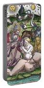 Garden Of Eden Historiae Animalium Portable Battery Charger