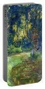 Garden Of Giverny Portable Battery Charger