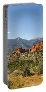 Garden Of The Gods And Pikes Peak - Colorado Springs Portable Battery Charger