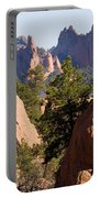 Garden Of The Gods And Red Rocks Open Space Portable Battery Charger