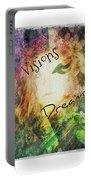 Garden Of Visions And Dreams Portable Battery Charger