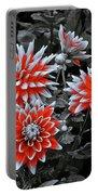 Garden Pom Poms Portable Battery Charger