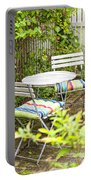 Garden Seating Area Portable Battery Charger