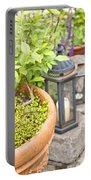 Garden Still Life Portable Battery Charger