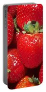 Garden Strawberries Portable Battery Charger