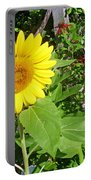 Garden Sunflower Portable Battery Charger