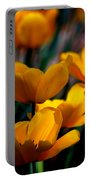 Garden Tulips Portable Battery Charger
