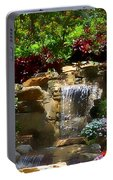 Garden Waterfalls Portable Battery Charger