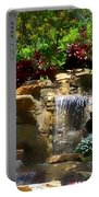 Garden Waterfalls Portable Battery Charger