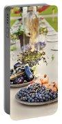 Garden Wedding Table Portable Battery Charger