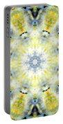 Gardenia Mandala Portable Battery Charger