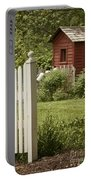 Garden's Entrance Portable Battery Charger by Margie Hurwich