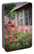 Gardens Of Pink Portable Battery Charger