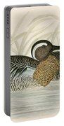Garganey Teal Portable Battery Charger