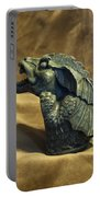 Gargoyle Or Grotesque Profile Portable Battery Charger