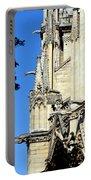 Gargoyles Of Notre Dame De Paris Portable Battery Charger