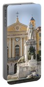 Garibaldi Monument In Nice France Portable Battery Charger