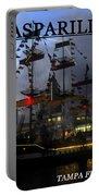 Gasparilla Ship Print Work B Portable Battery Charger