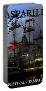Gasparilla Ship Print Work C Portable Battery Charger