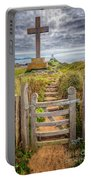Gate To Holy Island  Portable Battery Charger