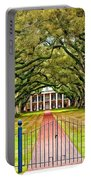 Gateway To The Old South Paint Portable Battery Charger by Steve Harrington