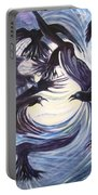 Gathering Of The Ravens Portable Battery Charger