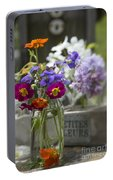 Gathering Wildflowers Portable Battery Charger
