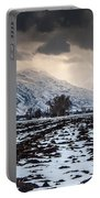 Gathering Winter Storm - Utah Valley Portable Battery Charger