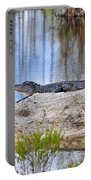 Gator On The Mound Portable Battery Charger