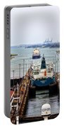 Gatun Locks Panama Canal Portable Battery Charger