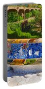 Gaudi's Park Guell - Impressions Of Barcelona Portable Battery Charger
