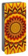 Gazania Kaleidoscope Portable Battery Charger