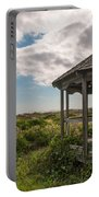 Gazebo At The Beach Portable Battery Charger