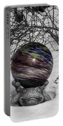 Gazing Ball Squared Portable Battery Charger