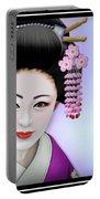 Geisha Girl Portable Battery Charger