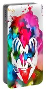 Gene Simmons Paint Splatter Portable Battery Charger