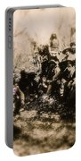 General George R. Crook Negotiating With Geronimo  1886-2008 Portable Battery Charger