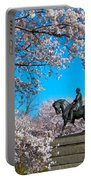 General In The Cherry Blossoms Portable Battery Charger